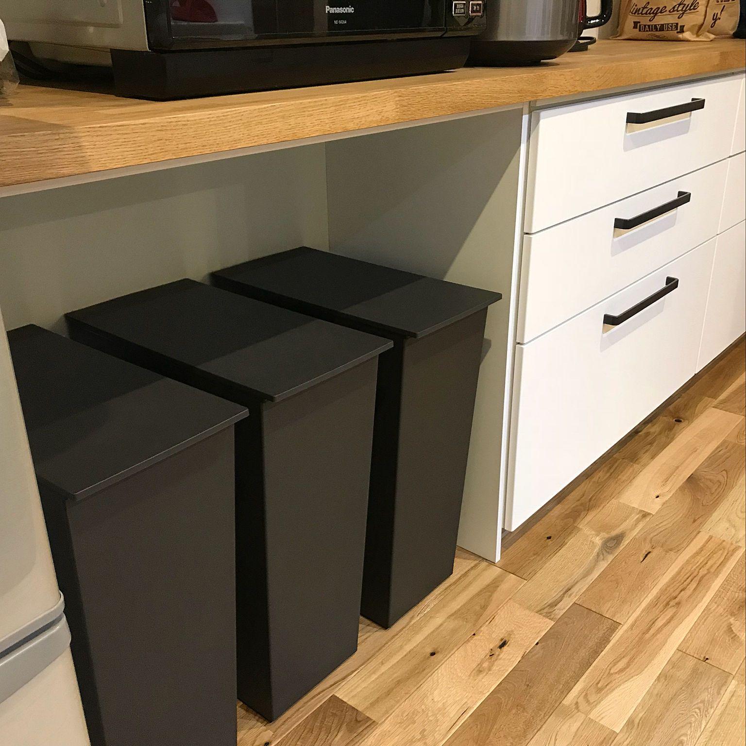 ゴミ箱 ラクシーナ カップボード キッチン クード などのインテリア