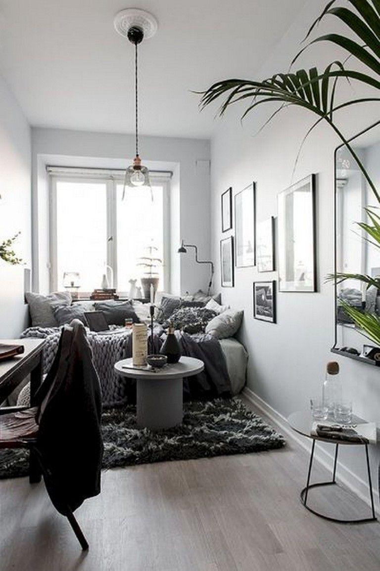 26 Comfy Tiny Apartment Studios Decor Ideas On A Budget Studio
