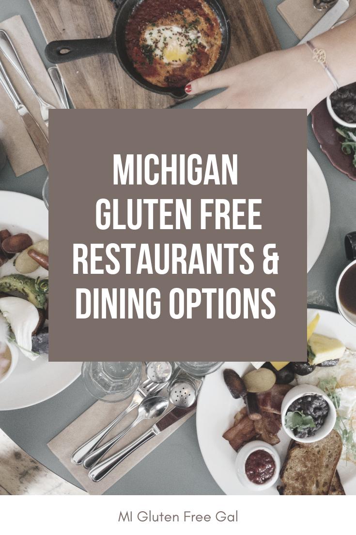 Michigan Gluten Free Dining Restaurants To Visit Mi Gluten Free Gal Gluten Free Dining Gluten Free Restaurants Gluten Free Camping