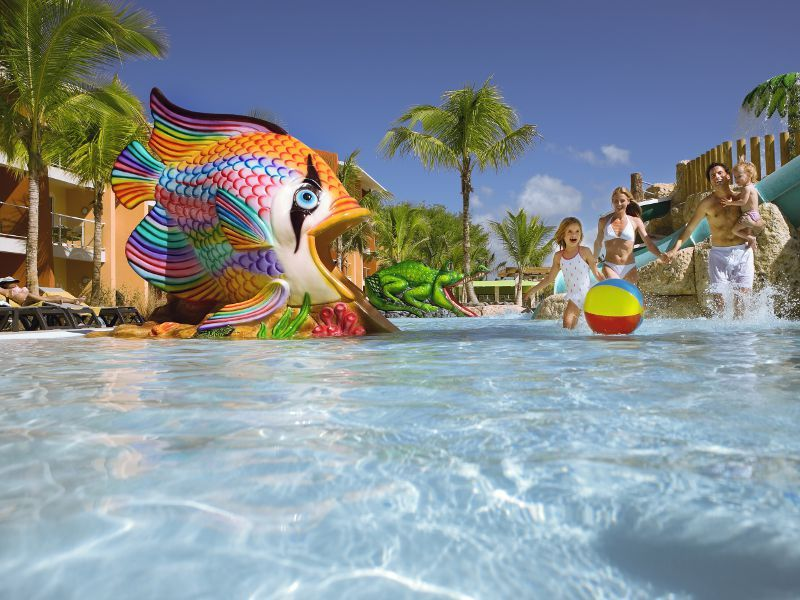 Barcelo Bavaro Palace Deluxe Kid Friendly Option In The Punta Cana Area Of Dominicn Punta Cana Resort Dominican Republic Resorts Barcelo Bavaro Palace Deluxe