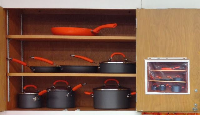 Kitchen Organization ideas for the FACS Classroom. #FS4703 This teacher has a great blog with great resources!