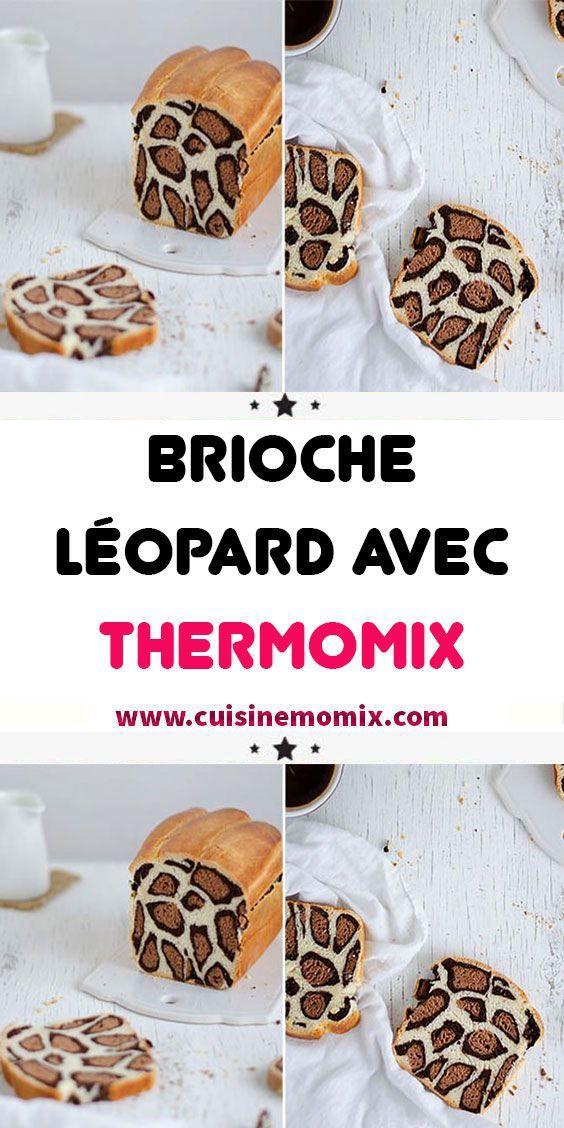 Brioche Léopard avec Thermomix