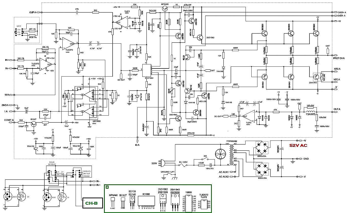2sc 2sa Amplifier Circuit Diagram