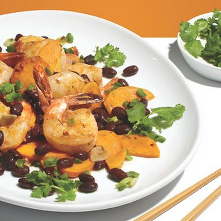 Jerk Shrimp Stir-Fry Recipe - (4.7/5) #jerkshrimp Jerk Shrimp Stir-Fry *I used chicken instead of shrimp!* #jerkshrimp