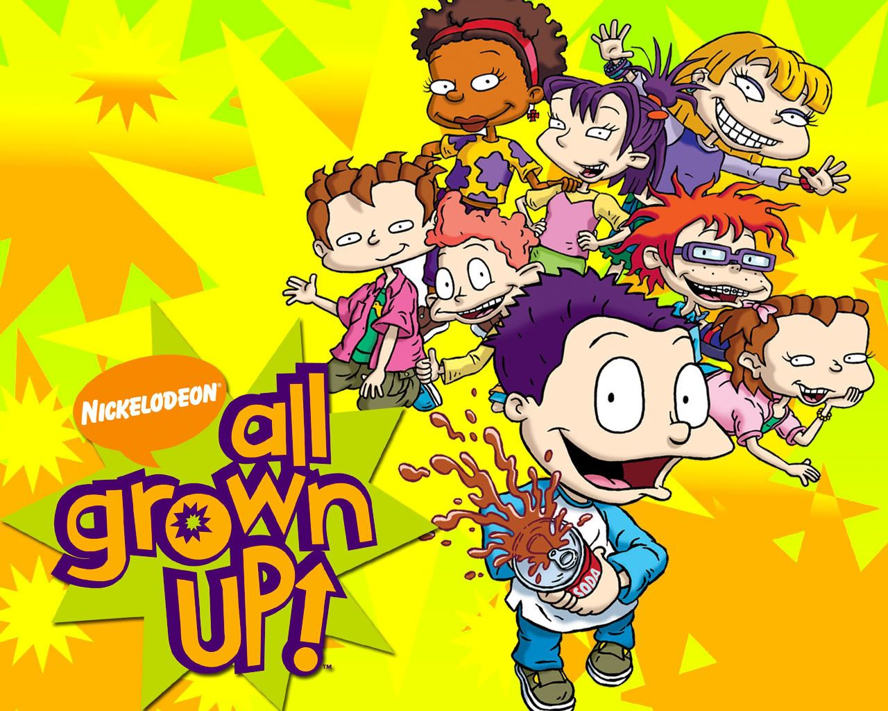 Childhood Cartoon Characters 90s : Rugrats all grown up the s growing pinterest
