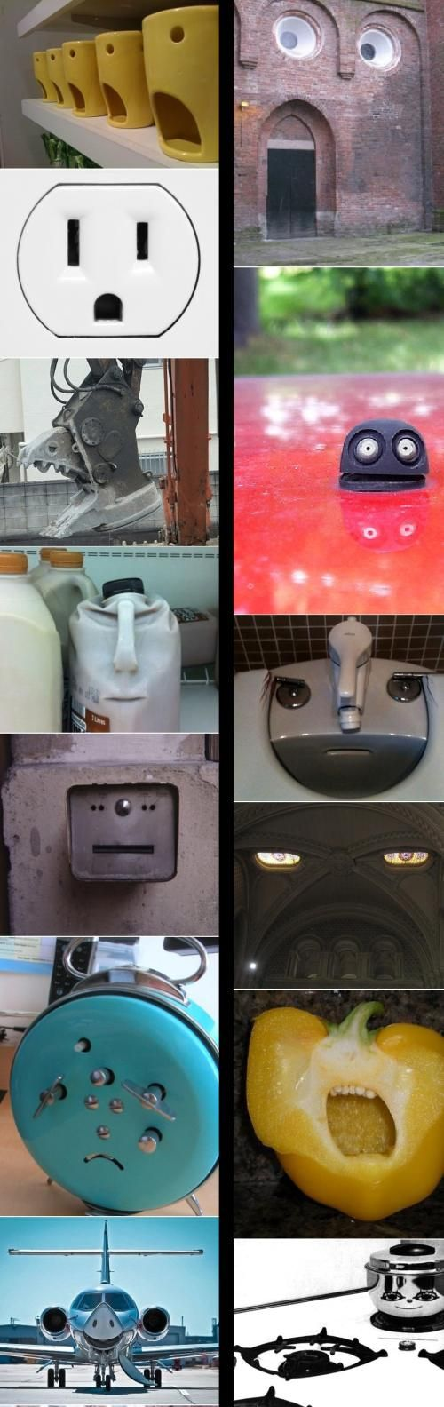 yess i'm so happy that i'm not the only one who see faces in everything....... everywhere......