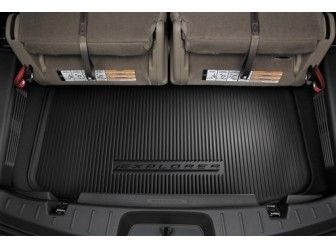 2011 2016 ford explorer cargo area protector for 3rd row seat at partscheap - 2013 Ford Explorer Interior 3rd Row
