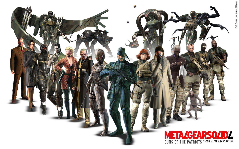 Metal Gear Solid 4 Guns Of The Patriots Metal Gear Solid
