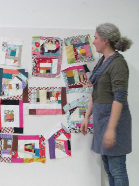 Portland moderno Quilt Gremio: marzo Reunión Recap