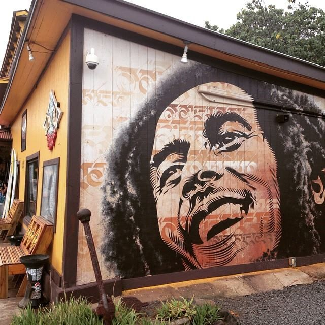 Up On The North Shore Of Hawaii, This Beautiful Bob Marley Mural Keeps  Watch Over Part 98
