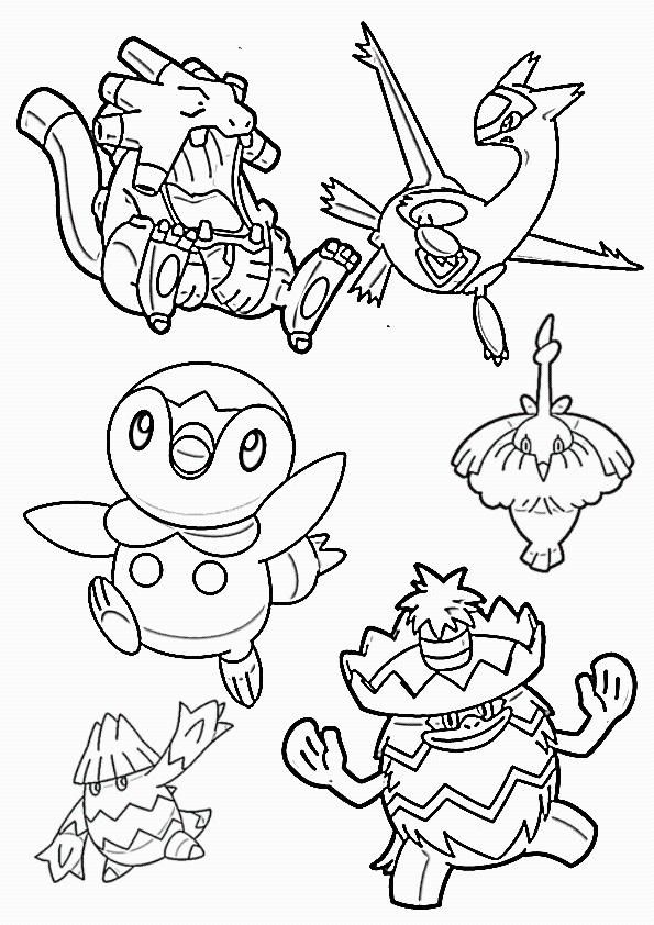 Kleurplaten 49 Verjaardag Mama Pokemon Ballen Kleurplaat Pokemon Fun Kleurplaat Pokemon