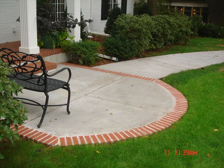 concrete patio | Minneapolis Concrete Patio Affordable-Low ... on Low Cost Patio Ideas id=57239