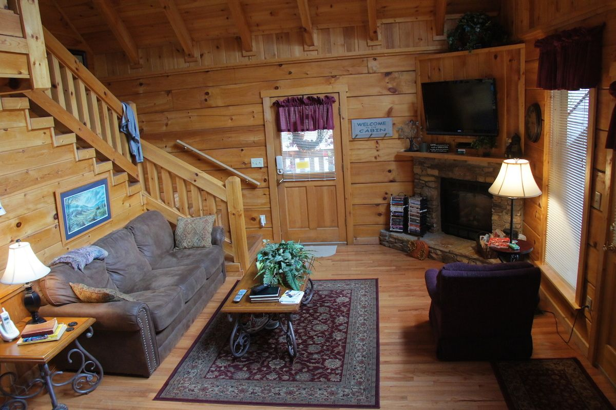 We Rented A Cabin In The Woods Above Gatlinburg TN For Our 35th  Anniversary. It