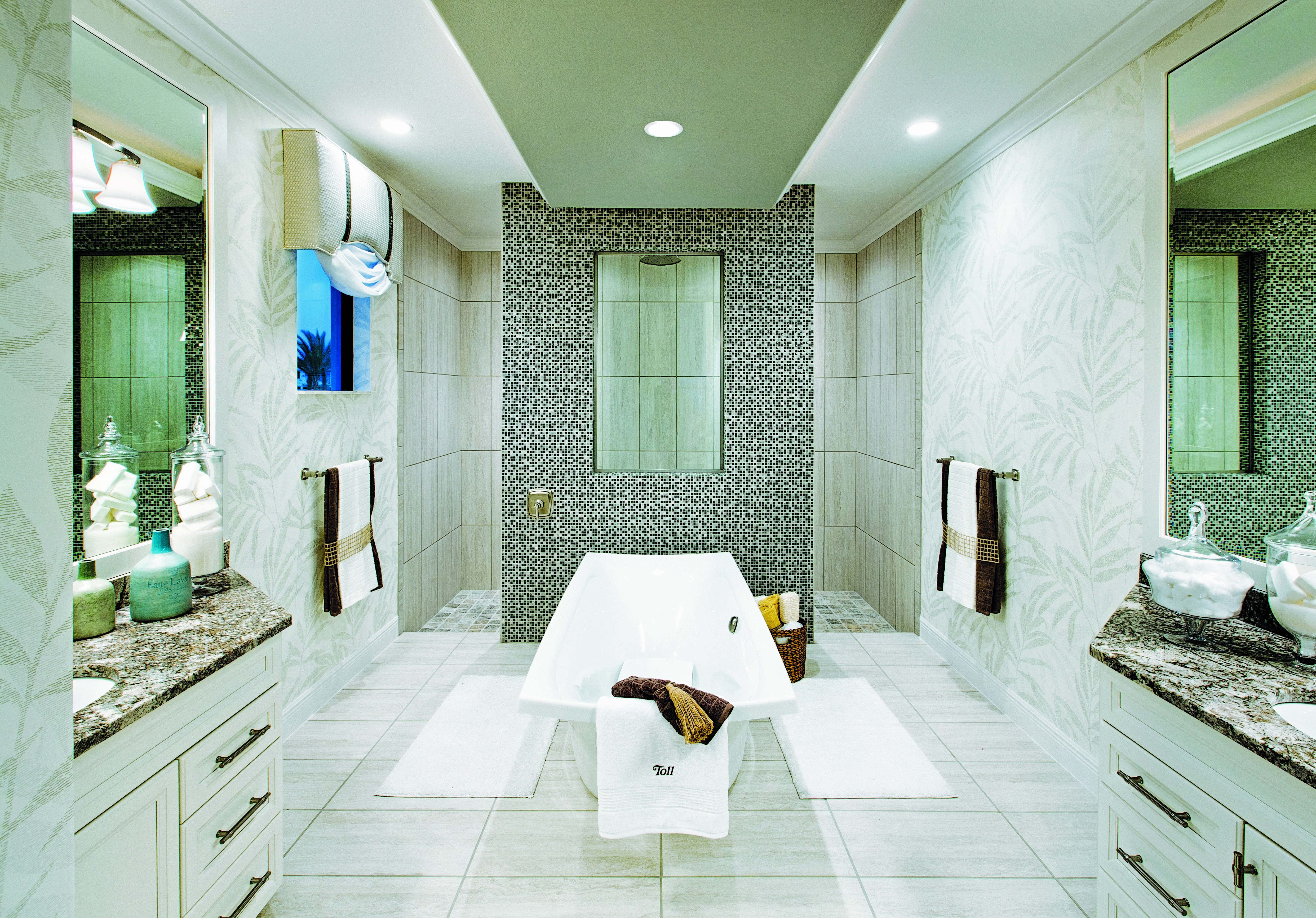 toll brothers palazzo at naples fl bathrooms pinterest
