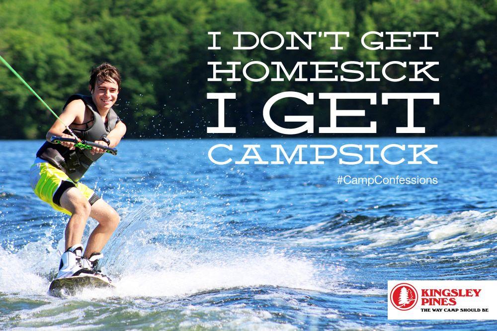Camp Confessions I don't get homesick, I get campsick