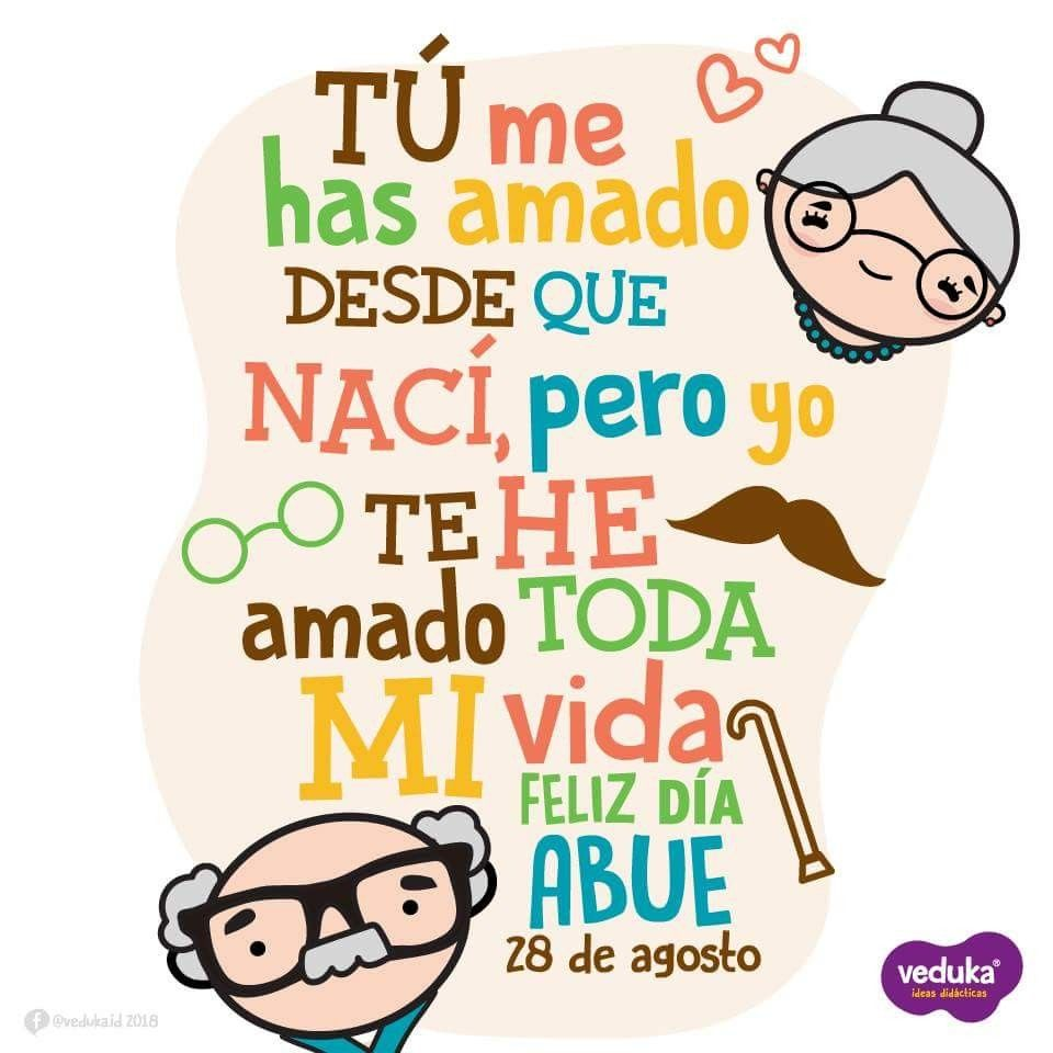 Abuelos Feliz Dia Del Abuelo Mensaje Para Mi Abuela Dia Del Abuelo
