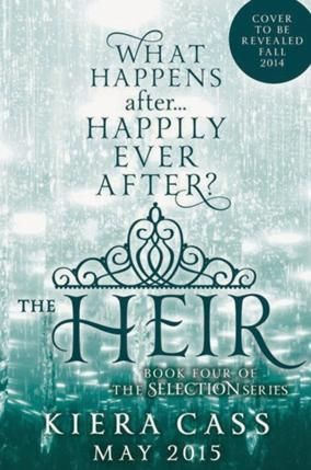 The Heir, het vierde boek in The Selection Series! We zijn hier zoooooooo blij mee
