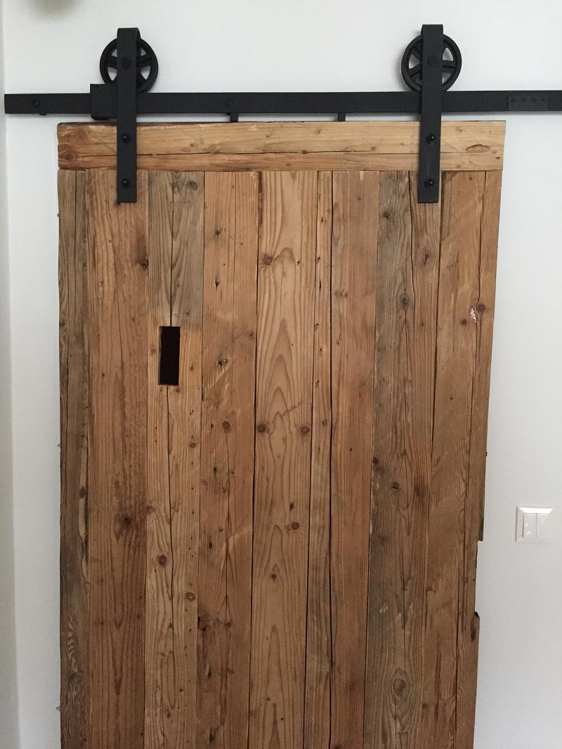 Schiebetr Altholz  Wohnen  Schiebe tr Holz und Altholz