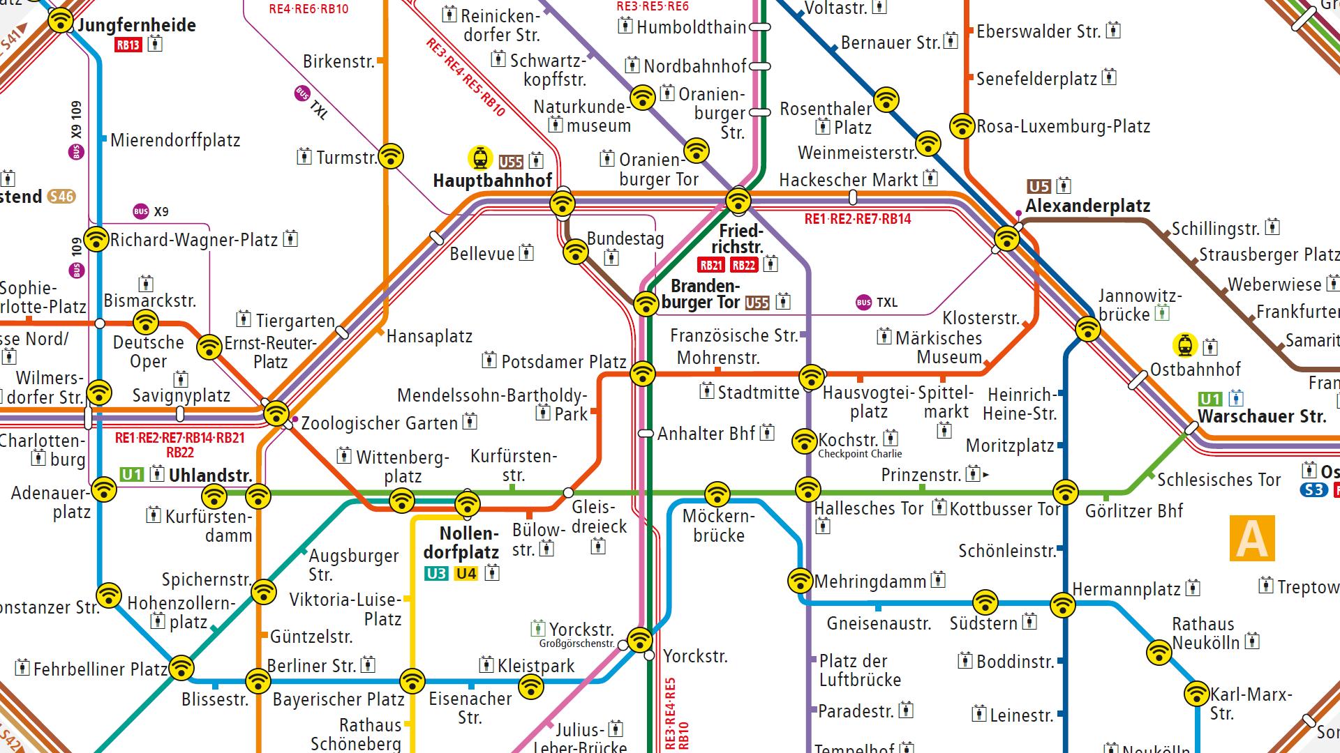 BVG Wi-Fi: Die (inoffizielle) WLAN-Karte für Berlin | Sebastian ...