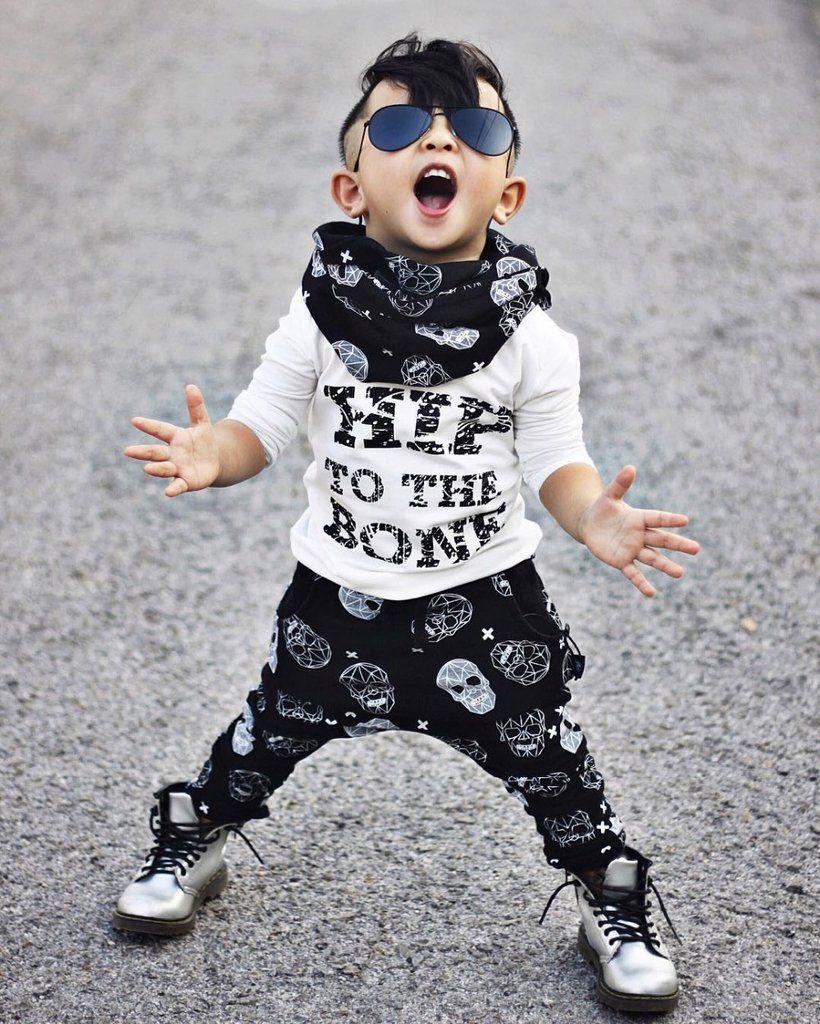 4016fbdb49cc 2 pcs. Toddlers Children Boy T-Shirts Tops Pants Summer