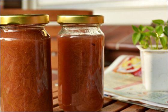 rhabarber marmelade kochen rezepte und marmelade