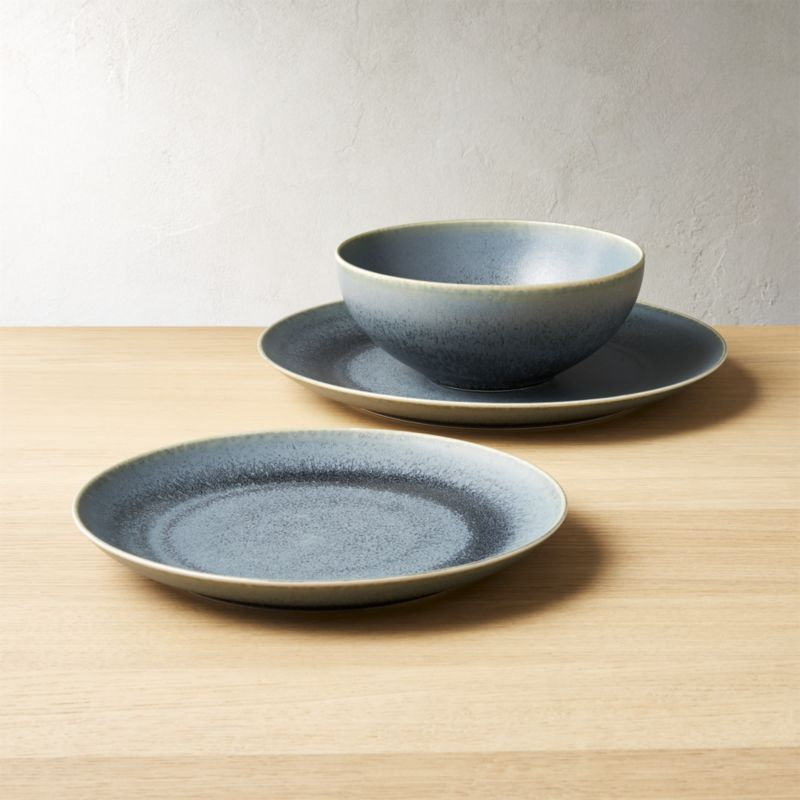 Shop Phase Reactive Blue Green Dinnerware Matte Blue Green Dinnerware Brings Pottery Vibes To Mealtime H Green Dinnerware Dining Sets Modern Tableware Design