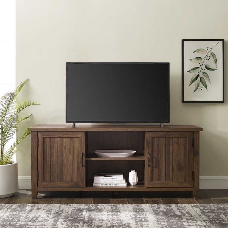 Shreffler Tv Stand For Tvs Up To 65 In 2020 Tv Stand Decor Living Room Tv Stand Decor Living Room Entertainment Center
