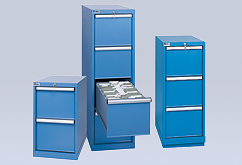 Fole drawer cabinets: Choice of two-, three- and four-drawer configurations