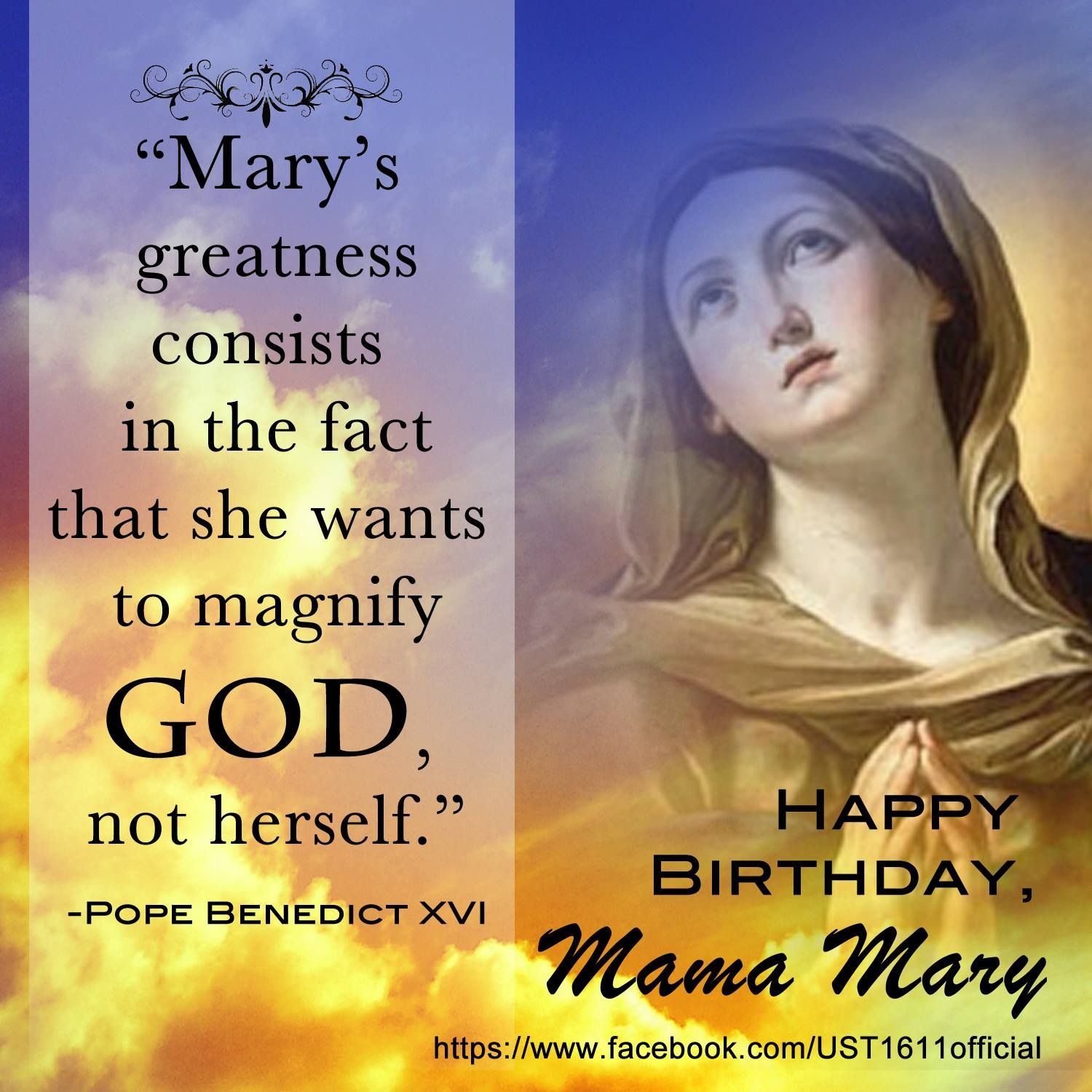 Pin by Marietta Suemith on MARY MOTHER Of GOD Blessed