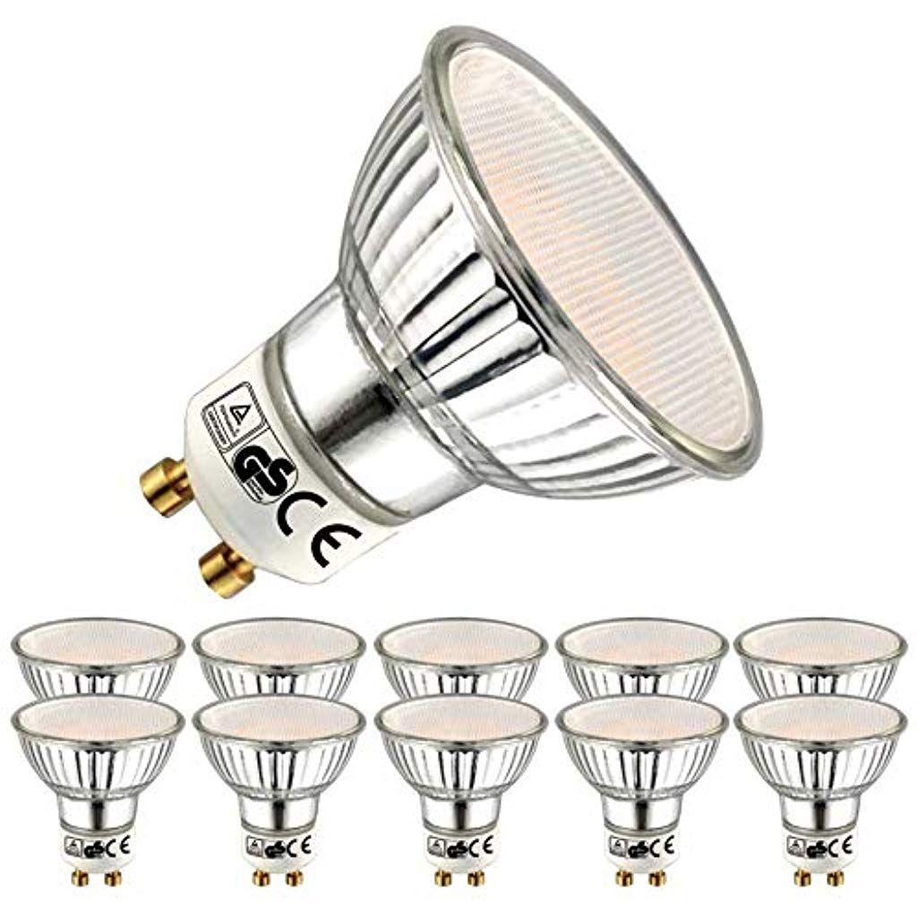 Eacll Gu10 Led Warmweiss 5w Leuchtmittel 2700k 400 Lumen Birnen Ersatz 50w Halogenlampe 10 Pack Baumarkt Kuchen Badinstallatio Led Warmweiss Led Leuchtmittel