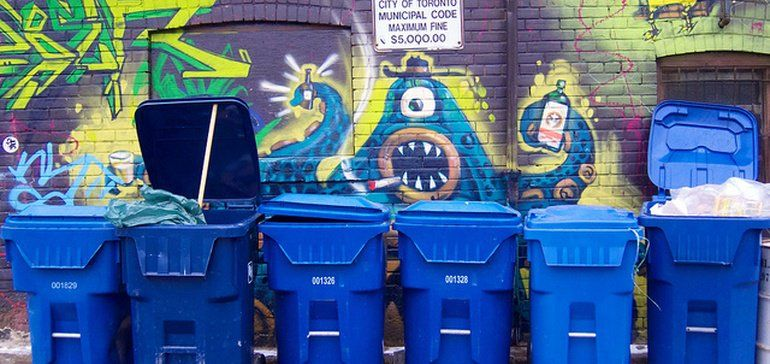 Cities are still struggling to fix recycling contamination