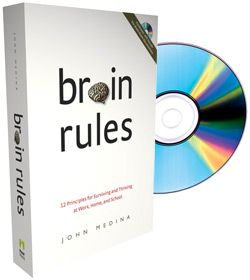 John Medina, a local scientist, encourages us to apply research about the human brain to our daily lives.  He wrote Brain Rules and also offers information on his website.