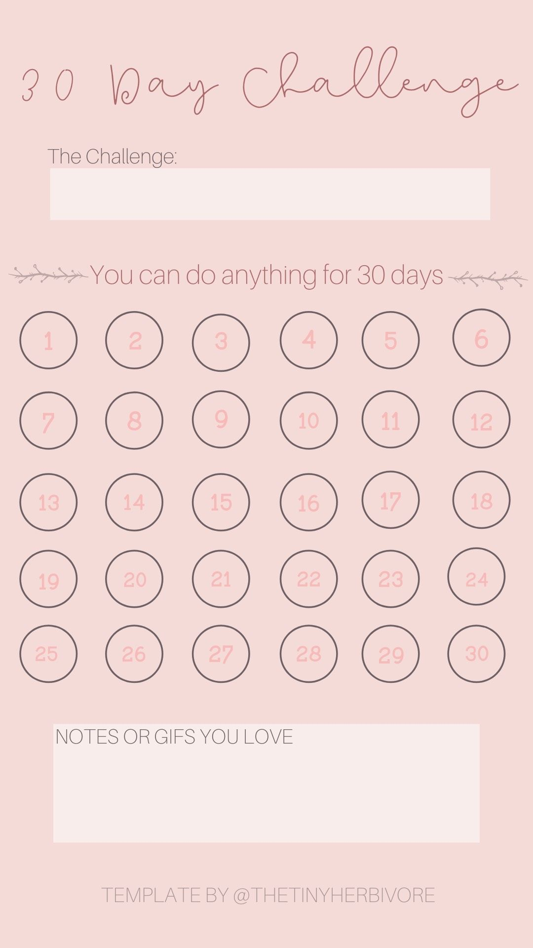 30 Day Challenge Instagram Story Template Thetinyherbivore 30 Day Instagram Challenge Instagram Template Instagram Story Template 30 day return policy template