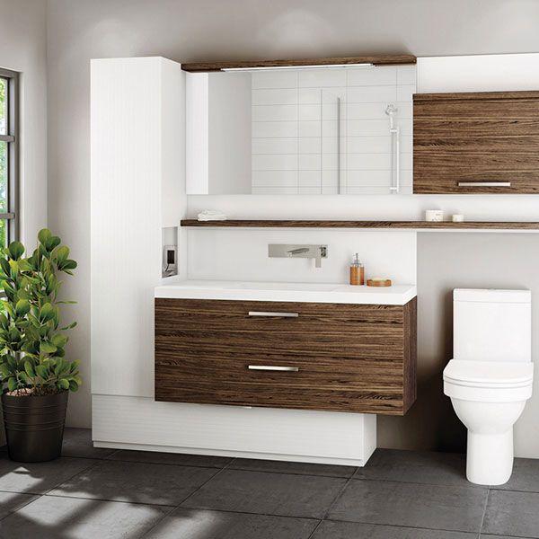Duo Vanity With Images Diy Bathroom Decor Bathroom Design Bathroom Renovations