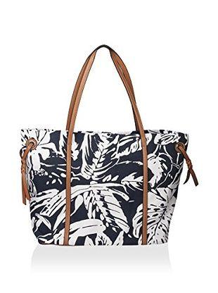 Emilie M. Women's Kana Double Shoulder Bag, Cognac