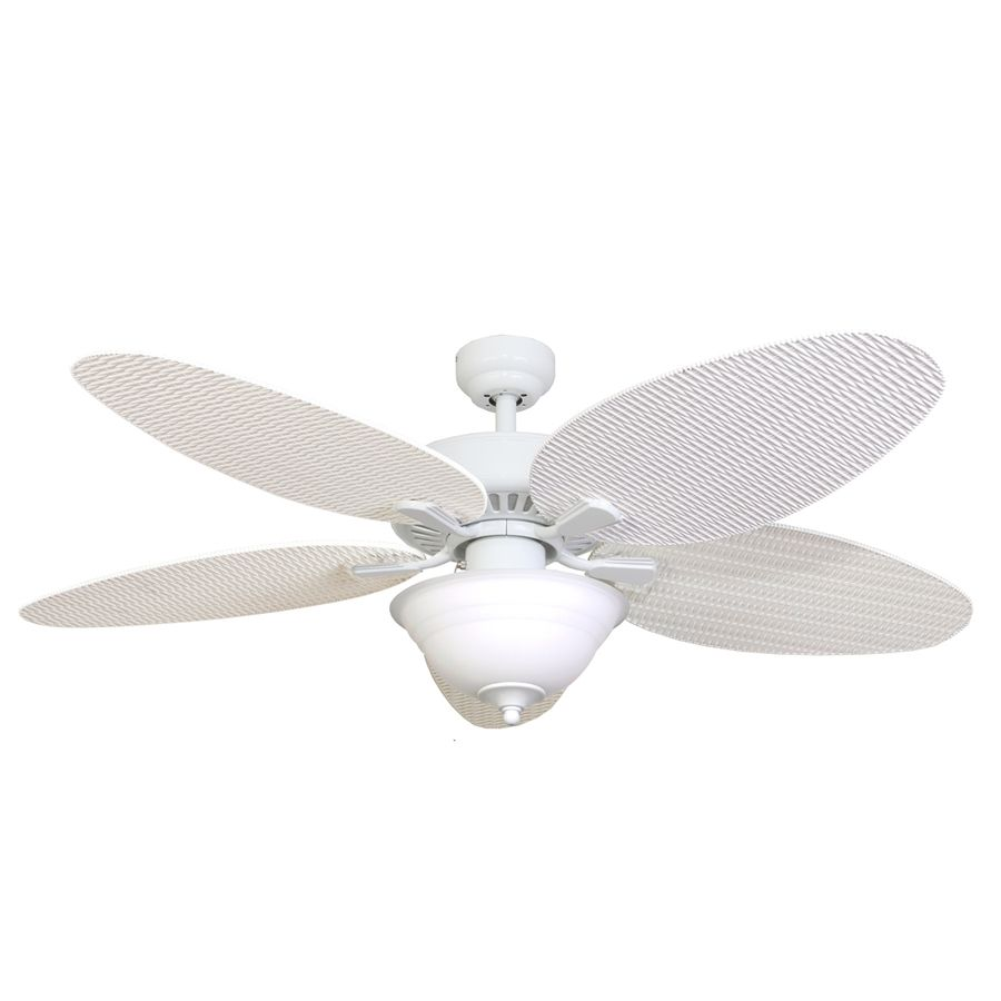 Family Room Option White Ceiling Fan Ceiling Fan With Remote Ceiling Fan