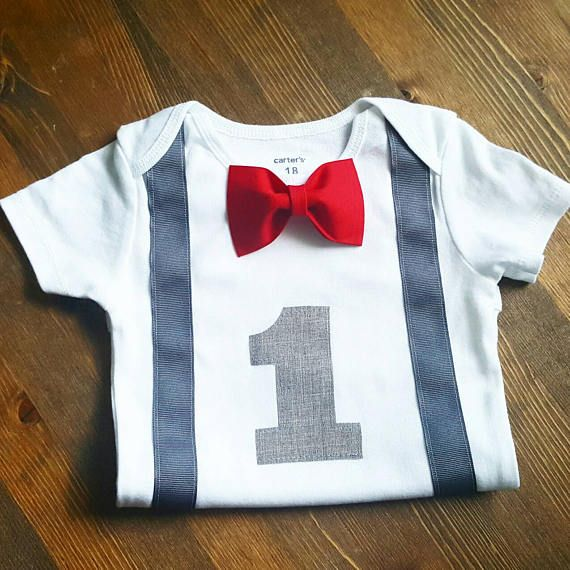 f3d72e990e841 Boys First Birthday Outfit - 1st Birthday Boy Shirt - Red First ...