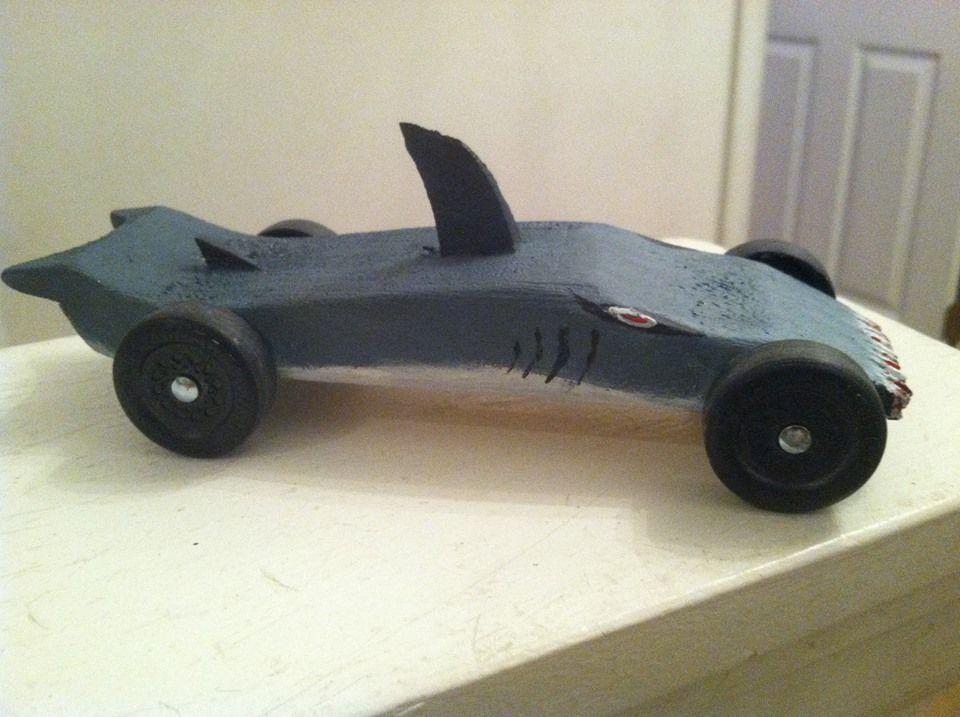 Formula 1 Pinewood Derby Car Template
