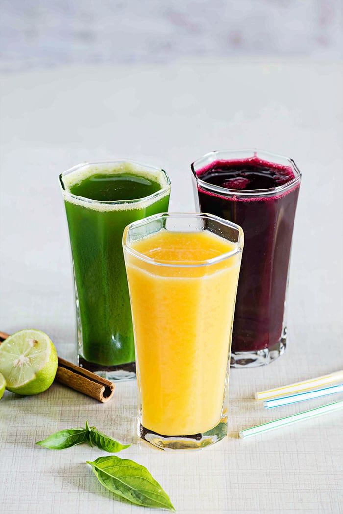 Three detox juice recipes to help you get your daily dose of vitamins and…
