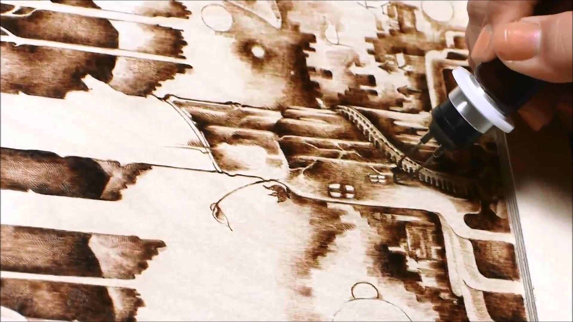 Woodburning Art - Pyrography 13/08/24