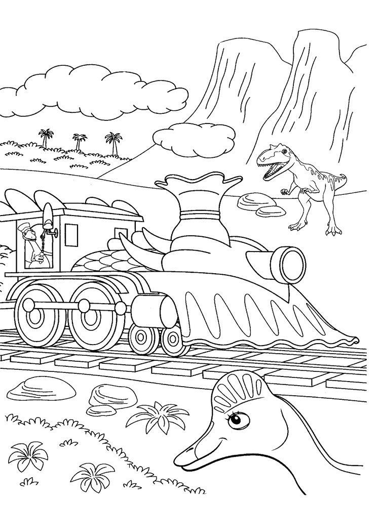 Dinosaur Train Coloring Pages Best Coloring Pages For Kids Train Coloring Pages Dinosaur Coloring Pages Superhero Coloring Pages