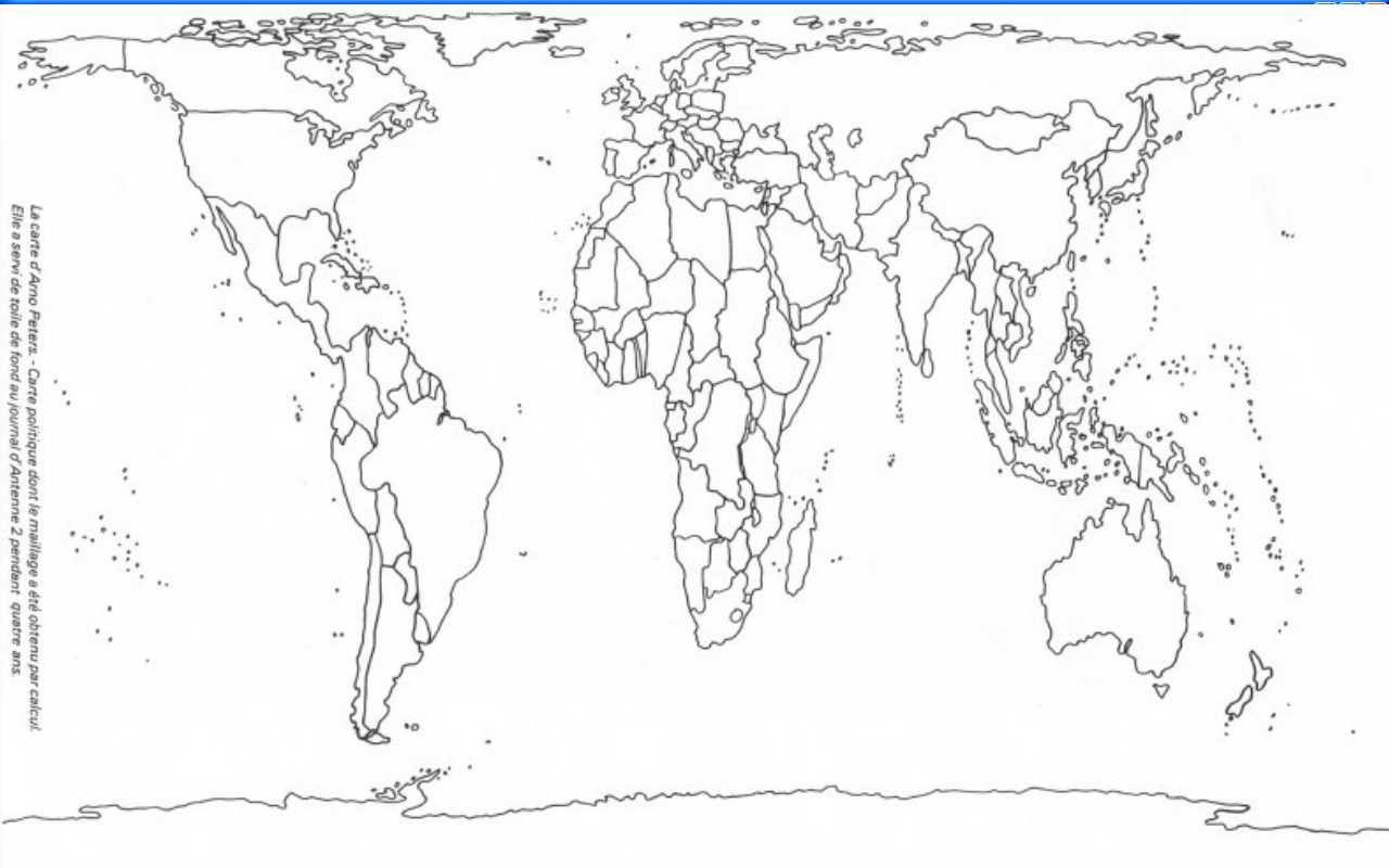 mapamundi mudo politico peters - Buscar con Google