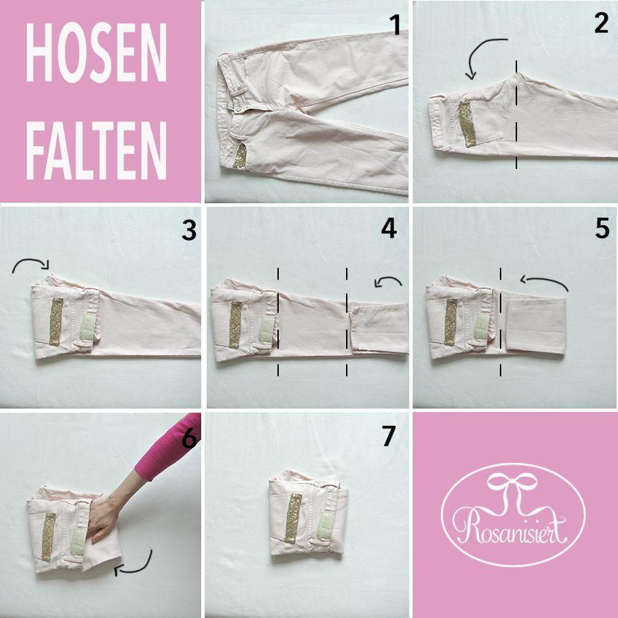 Ordnung Im Kleiderschrank Platzsparend Kleidung Zusammenlegen