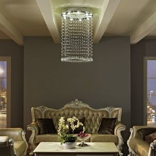 Shop for Glint Crystal Chandelier. Get free shipping at Overstock.com - Your Online Home Decor Outlet Store! Get 5% in rewards with Club O!