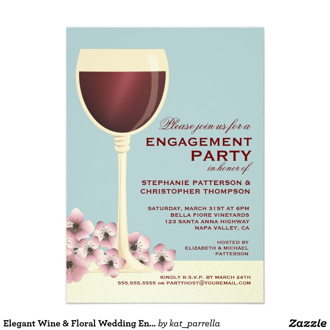 Fancy Wine Party Invitations Pictures - Invitations Example ...