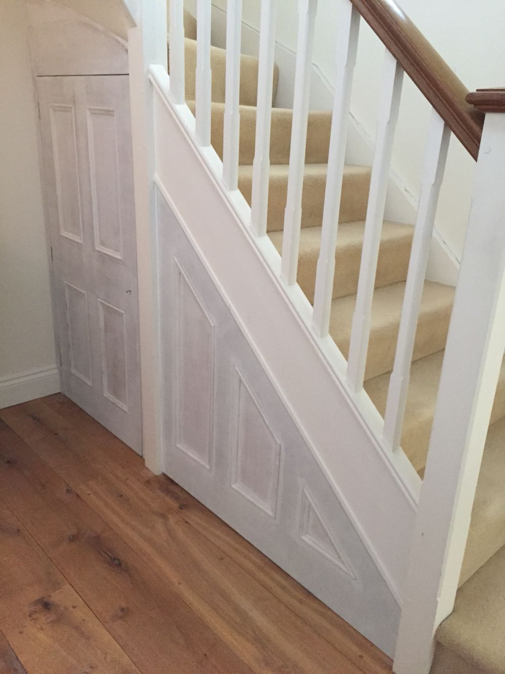 Under Stairs Panel And Door Made And Fitted Ready For Painting | A T E L I  E R C A B I N E T M A K E R S | Pinterest | Doors And House