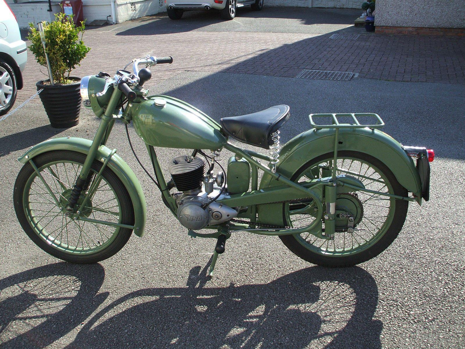 1951 BSA Bantam D1 | Motorcycles | Pinterest | D1