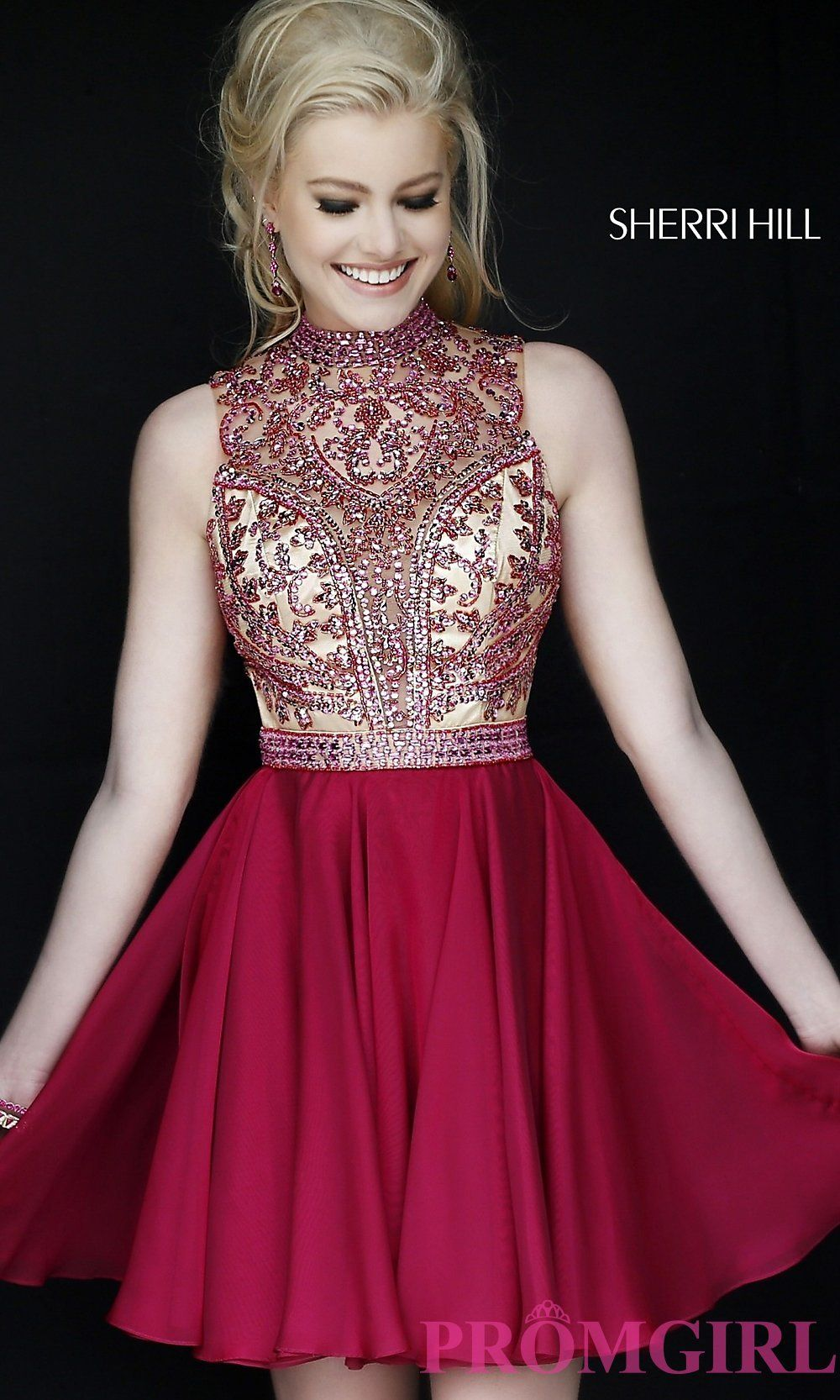 fd74973cf36a Prom Dresses, Celebrity Dresses, Sexy Evening Gowns: Short Strapless Sherri  Hill Dress