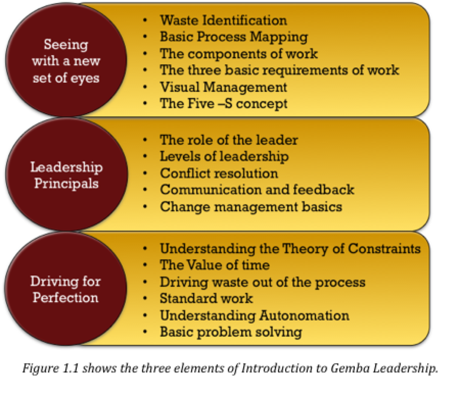 gemba Gemba Kanri (Introduction to Gemba Leadership