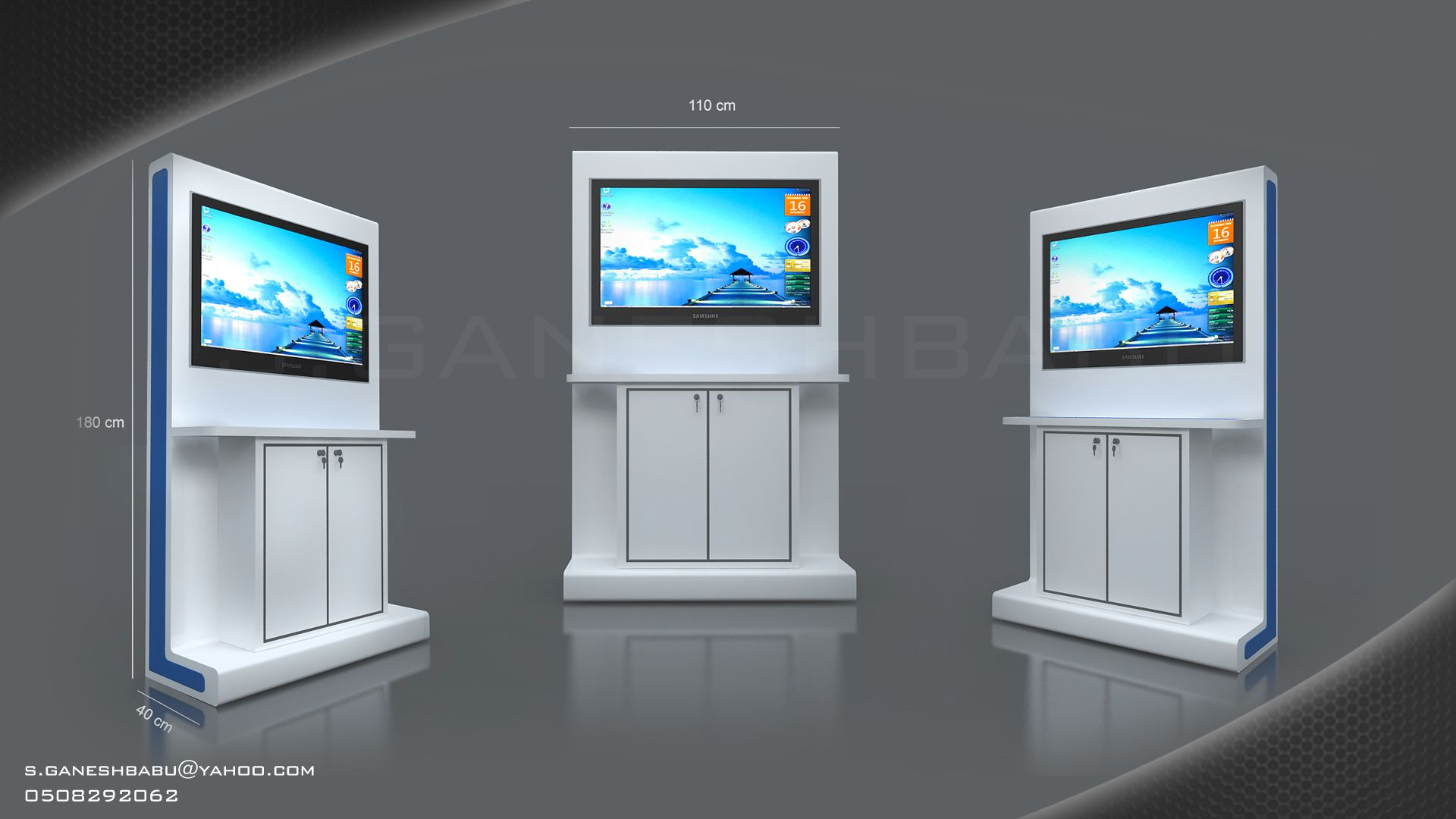 Exhibition Stand With Screen : Exhibition stand ideas to attract people to your booth octink